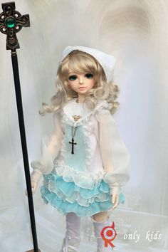 Only kids] [1/4 BJD / SD doll clothes dress robes lily of the valley Set E-006- Taobao