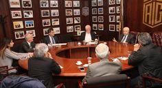 اجتماع لجنة الطاقة النووية إحدى لجان ملتقى طلال أبوغزاله المعرفي   - Meeting of the Nuclear Energy Committee of Talal Abu-Ghazaleh Knowledge Forum (TAGKF)