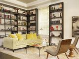 I really like book shelving and racks unit systems in this living room. Check out this link for information about getting metal shelves and racks for your living in a color of your choosing: http://www.justshelfit.com/metal-shelving-racks-for-storage.html