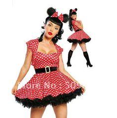 plus size halloween costume: minnie mouse | halloween | pinterest
