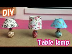 This channel diy miniature tutorial. I love doll house,craft, and more. Doll House Crafts, Doll Crafts, Diy Barbie Furniture, Dollhouse Furniture, Miniature Crafts, Miniature Dolls, Diy Dollhouse, Dollhouse Miniatures, Dollhouse Accessories