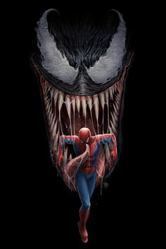 #Venom #Fan #Art. (Venom Separation Anxiety) By: DougSirois. (THE * 5 * STÅR * ÅWARD * OF: * AW YEAH, IT'S MAJOR ÅWESOMENESS!!!™)[THANK Ü 4 PINNING!!!<·><]<©>ÅÅÅ+(OB4E)