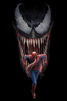 #Venom #Fan #Art. (Venom Separation Anxiety) By:DougSirois. (THE * 5 * STÅR * ÅWARD * OF: * AW YEAH, IT'S MAJOR ÅWESOMENESS!!!™)[THANK Ü 4 PINNING!!!<·><]<©>ÅÅÅ+(OB4E)