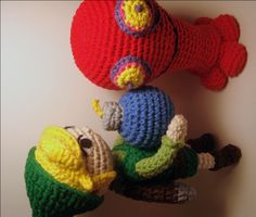amigurumi crochet patterns | Nerdigurumi - Free Amigurumi Crochet Patterns with love for the Nerdy ...