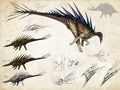-Tissoplastic Stegosaur- by Tapwing.deviantart.com on @DeviantArt