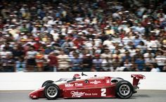Al Unser - March 84C Cosworth - Penske Racing - Indianapolis 500-Mile Race - 1984 PPG Indy Car World Series, round 3 - 1983-84 USAC Gold Crown Championship, round 2