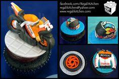 MotoGP Honda Repsol Cupcakes for Kean