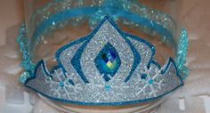 ELSA inspired CROWNS Six Frozen Party Crowns Elsa by JennasGarden, $72.00