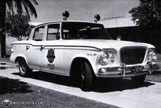Studebaker Lark cruiser squadcar patrol car police car squad car