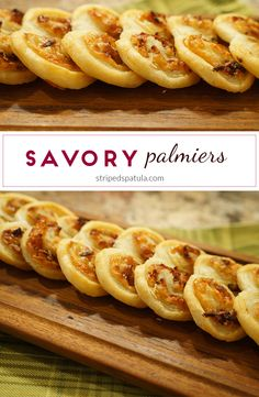 Image Gallery savory palmiers