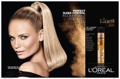 Golden Formula for Legendary Hold by L'Oréal Paris / Model: Natasha Poly