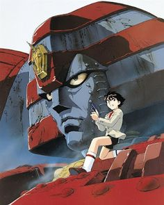 Giant Robo The Animation Robot Tv, Robot Cartoon, Japanese Robot, Mecha Anime, Super Robot, Retro, Illustration, Sci Fi, Artwork