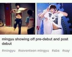 Hes gonna be the first member to strip