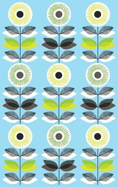 print & pattern ~ nadia taylor x Retro Pattern, Pattern Art, Pattern Design, Textile Prints, Textile Patterns, Floral Prints, Pretty Patterns, Color Patterns, Pattern Illustration