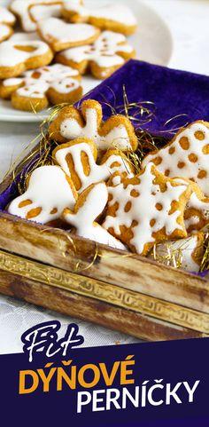 Perníčky nejsou sice moje oblíbené cukroví, ale na vánočním stole by neměly chybět. Stačí jich udělat trochu. Nejkrkolomnější na fit zdravější verzi perníčků bylo vymyslet světlou polevu bez cukru, která by na nich držela. Nakonec se mi to povedlo díky práškovému sladidlu a bramborovému škrobu. Samozřejmě není tak kompaktní jako cukrová poleva, ale je to přijatelná alternativa, která taky udělá parádu. Anna, Desserts, Recipes, Diet, Christmas, Tailgate Desserts, Deserts, Recipies, Postres