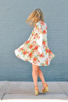 date night outfit, spring dresses, spring outfit ideas, day to night outfits, floral dress, floral print