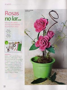 Maceta con Rosas -