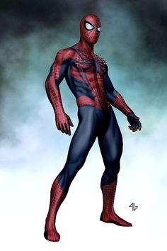 Amazing Spider-Man 2 concept art by Adi Granov