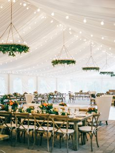 tented reception wit