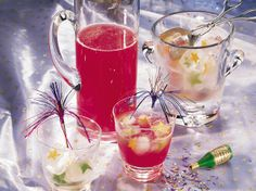 The fizz from the ginger ale makes this fruity punch a hit at any party!