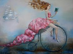 "Saatchi Art Artiste Oleg Tchoubakov; Peinture, ""Paper board"" #art"
