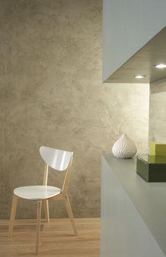 Peinture décorative Architecte effet métal