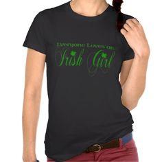 Irish Girl Tshirt #StPatricksDay #Irish #T-shirt
