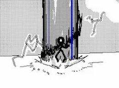 Hasil gambar untuk epic stick flipnote fight gif