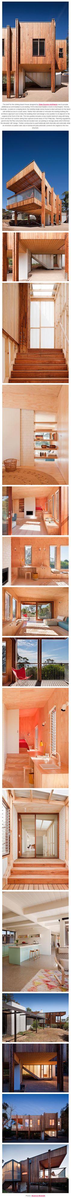 Striking modern beach house in Mornington