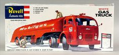 Revell 1420 (re-issue) White Gas Truck