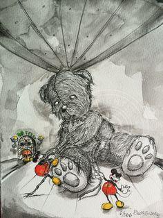 6/366 #teddy #mickey