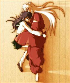 Kagome y inuyasha Inuyasha Funny, Inuyasha Fan Art, Inuyasha And Sesshomaru, Kagome And Inuyasha, Kagome Higurashi, Manga Love, Anime Love, Anime Rules, Bow Wow