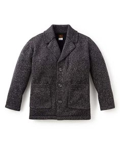 Love this Tea Collection Jet Black Sweater Blazer - Toddler & Boys by Tea Collection on #zulily! #zulilyfinds