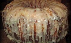 pecan pie pound cake. This cake is rich and indulgent, so a small slice is plenty.