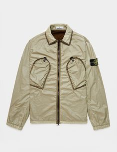 Stone Island Pocket Long Sleeve Shirt - available at Tessuti, the luxury designer retailer for Men, Women and Children. Stone Island Shop, Luxury Designer, Military Jacket, Long Sleeve Shirts, Pocket, Children, Women, Fashion, Young Children