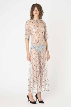 Ganni California Lace dress from Spring / Summer 2015 collection.