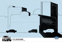 """Ford Optical Illusion """"Stare at This Ford Print Ad for 30 Seconds, and It Will Suddenly Make Sense"""" 
