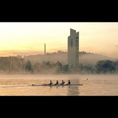 Lake Rowers - Canberra Willis Tower, Building, Awesome, Places, Travel, Lugares, Viajes, Buildings, Traveling