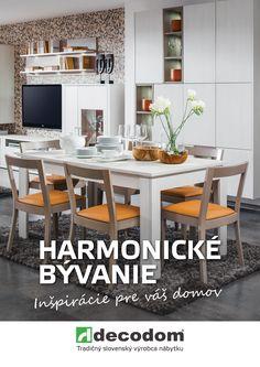 katalóg Harmonické bývanie 2016 Table, Furniture, Home Decor, Decoration Home, Room Decor, Tables, Home Furnishings, Home Interior Design, Desk