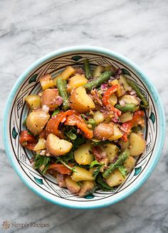 Mediterranean Potato Salad Recipe on SimplyRecipes.com