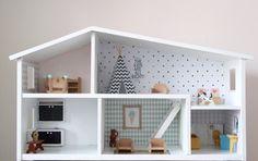 Project poppenhuis opknappen. Leuk om te doen! #DIY #dollhouse #Lundby #lundbyrenovering #Lundbyrenovation #poppenhuis
