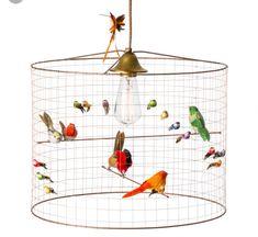 Large Two-Tier La Volière Bird Cage Pendant by Mathieu Challières Birdcage Chandelier, Pendant Chandelier, Pendant Lighting, Birdcage Light, Lighting Sale, Lighting Online, David Pompa, Vintage Opulence, Magazine Deco