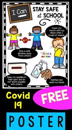 Kindergarten Posters, Kindergarten Freebies, School Posters, Kindergarten Activities, Preschool Classroom, Clean Classroom, Classroom Activities, Back To School Activities, Rules For Kids