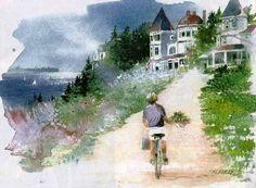 Resultat d'imatges de Nita engle watercolor