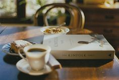 The perfect way to start the morning. #Reading #Cozy #Coffee