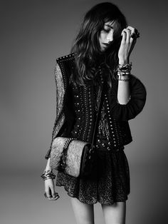 La collection PSYCH ROCK de Saint Laurent par Hedi Slimane …