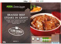 Asda - Braised Beef Steaks in Gravy