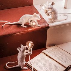 Mouse Lamps - Decorative & String Lights - Lighting - Lighting & Mirrors