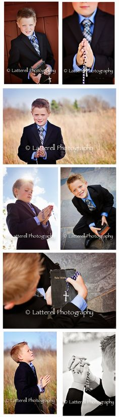 Latterell Photography - FIrst Communion Boy