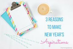 """Brilliant alternative to making new years resolutions!! Make """"aspirations"""" which are more doable and fulfilling! #newyears #goals"""